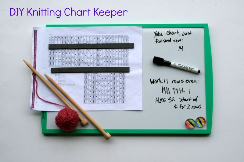 DIY-knitting-chart-keeper