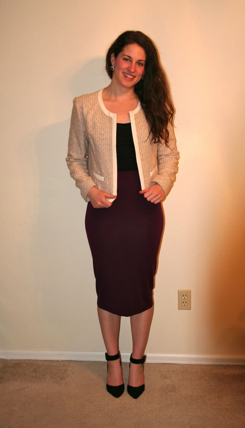 Handmade-pencil-skirt