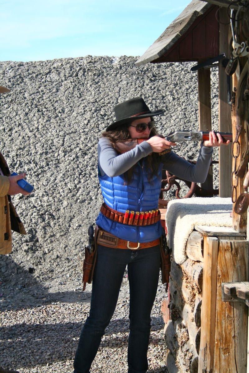 Cowboy-Shoot